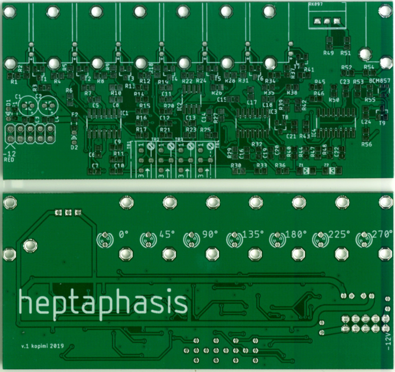Heptaphasis - 3HP 7-phase sine LFO